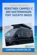 Bürstner Campeo C 600 Kastenwagen Fiat Ducato Basis