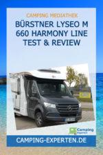 Bürstner Lyseo M 660 Harmony Line Test & Review