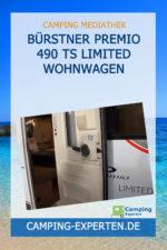 Bürstner Premio 490 TS limited Wohnwagen