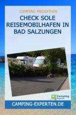 CHECK Sole Reisemobilhafen in BAD SALZUNGEN