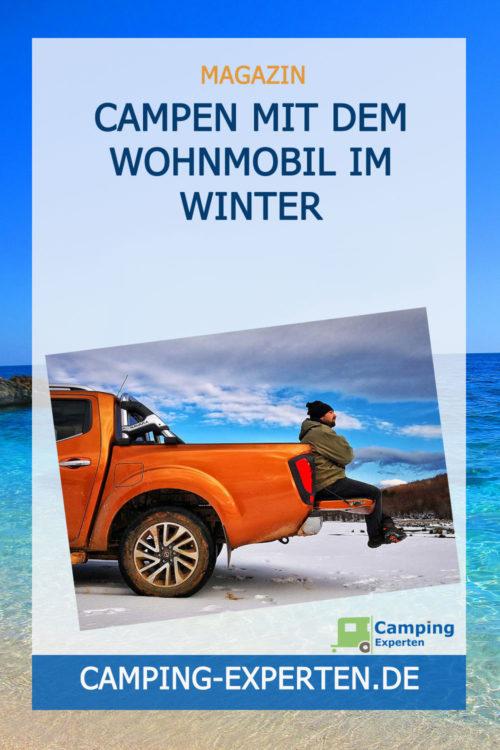 Campen mit dem Wohnmobil im Winter