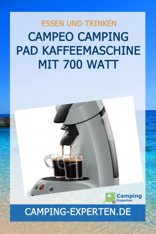 Campeo Camping Pad Kaffeemaschine mit 700 Watt