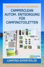 CamperClean autom. Entsorgung für Campingtoiletten