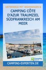 Camping Côte d'Azur Traumziel Südfrankreich am Meer