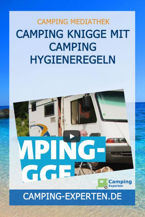 Camping Knigge mit Camping Hygieneregeln