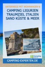 Camping Ligurien Traumziel Italien Sand Küste & Meer