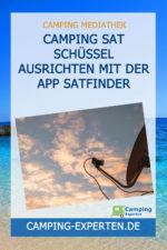 Camping SAT Schüssel ausrichten mit der APP SatFinder