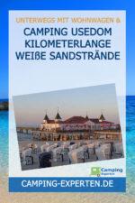 Camping Usedom Kilometerlange weiße Sandstrände