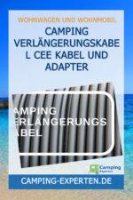 Camping Verlängerungskabel CEE Kabel und Adapter