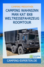 Camping Wahnsinn MAN KAT 8x8 Weltreisefahrzeug Roomtour