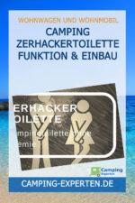 Camping Zerhackertoilette Funktion & Einbau