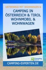 Camping in Österreich & Tirol Wohnmobil & Wohnwagen