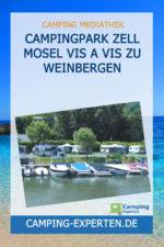 Campingpark Zell Mosel Vis a vis zu Weinbergen