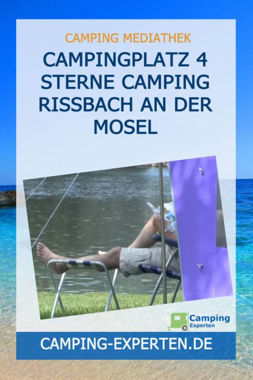 Campingplatz 4 Sterne Camping Rissbach an der Mosel