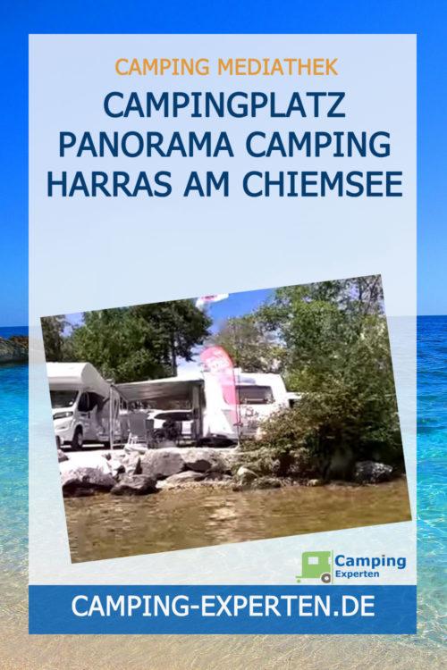 Campingplatz Panorama Camping Harras am Chiemsee