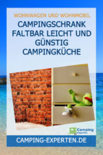 Campingschrank faltbar leicht und günstig Campingküche