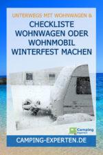 Checkliste Wohnwagen oder Wohnmobil winterfest machen