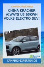China Kracher Aiways U5 65kWh Volks Elektro SUV!