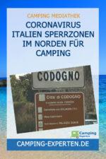 Coronavirus Italien Sperrzonen im Norden für Camping