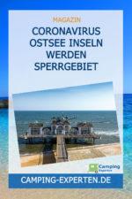 Coronavirus Ostsee Inseln werden Sperrgebiet