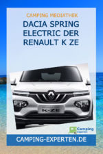 DACIA SPRING ELECTRIC Der Renault K ZE