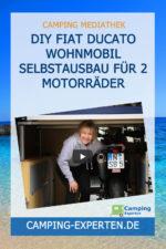 DIY Fiat Ducato Wohnmobil Selbstausbau für 2 Motorräder