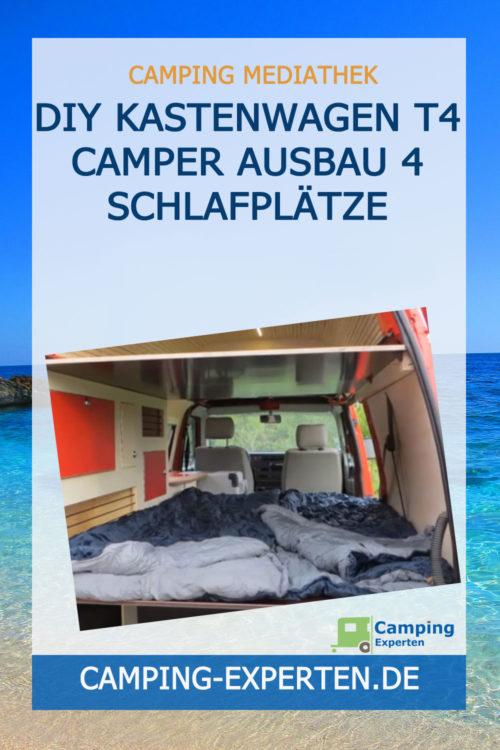 DIY Kastenwagen T4 Camper Ausbau 4 Schlafplätze