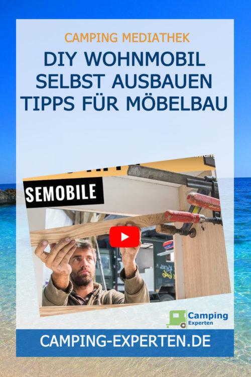 DIY Wohnmobil selbst ausbauen Tipps für Möbelbau