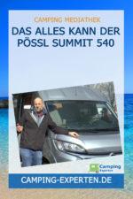 Das alles kann der Pössl Summit 540
