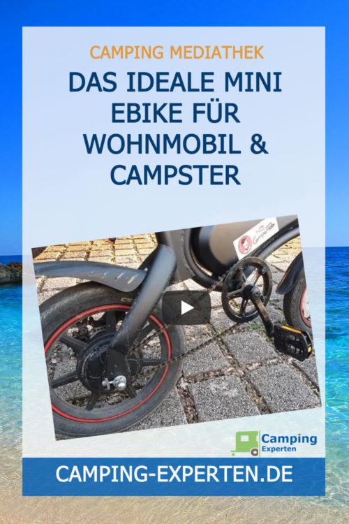 Das ideale Mini eBike für Wohnmobil & Campster