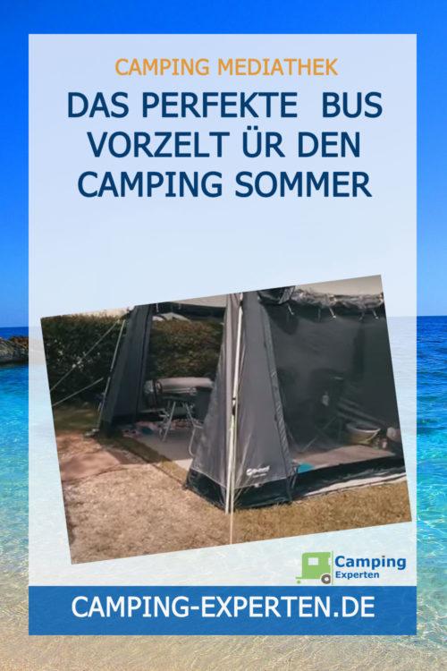 Das perfekte Bus Vorzelt ür den Camping Sommer