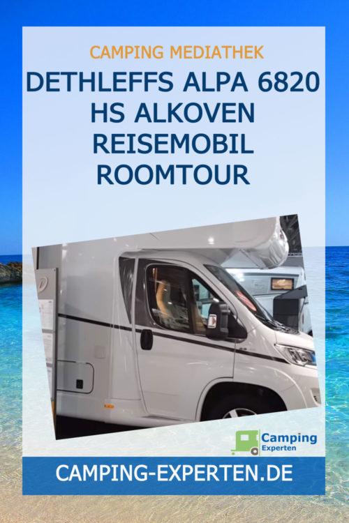 Dethleffs ALPA 6820 HS Alkoven Reisemobil Roomtour