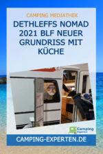 Dethleffs Nomad 2021 BLF neuer Grundriss mit Küche