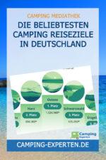 Die beliebtesten Camping Reiseziele in Deutschland