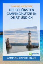 Die schönsten Campingplätze in DE AT und CH