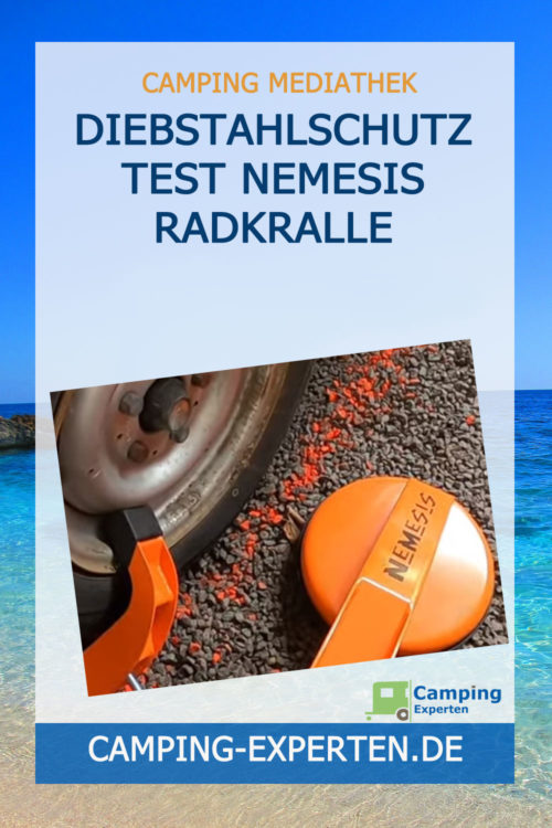 Diebstahlschutz Test Nemesis Radkralle