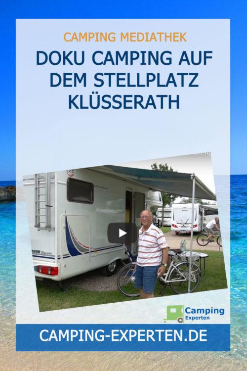 Doku Camping auf dem Stellplatz Klüsserath