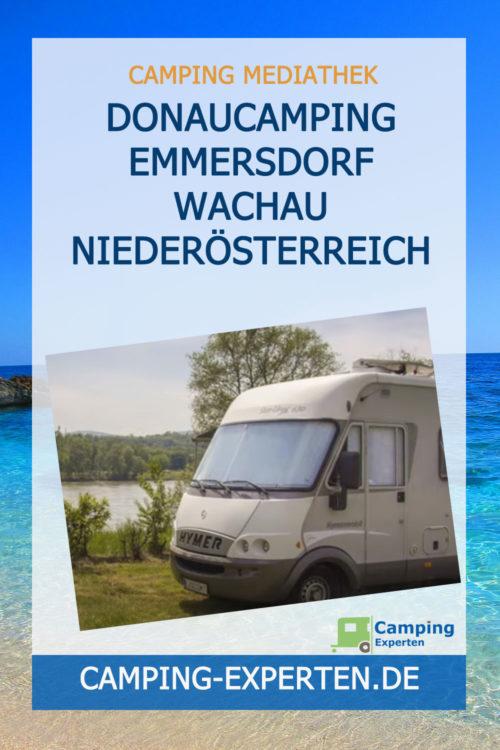 Donaucamping Emmersdorf Wachau Niederösterreich
