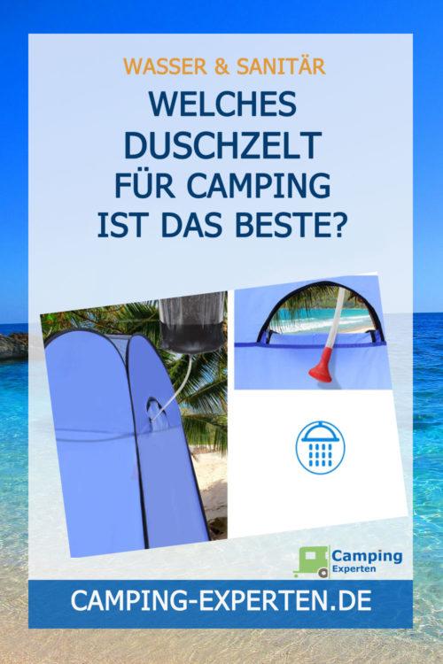 Duschzelt für Camping