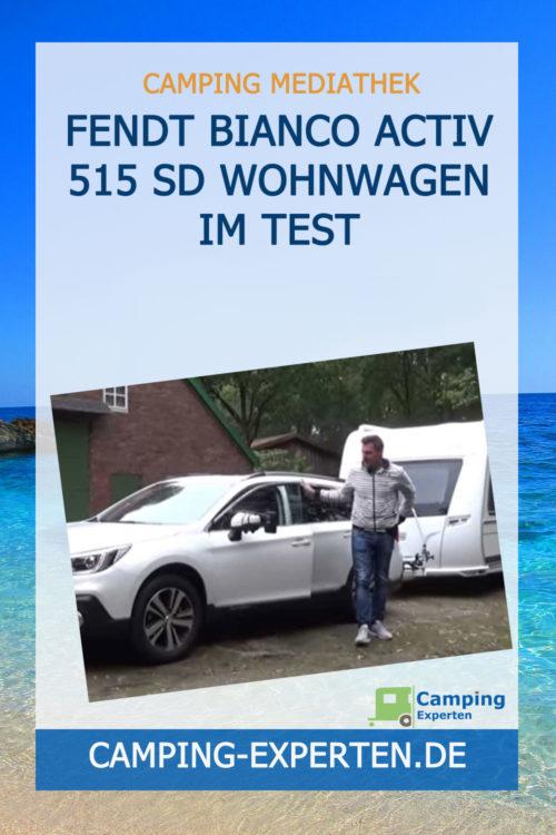 Fendt Bianco Activ 515 SD Wohnwagen im Test