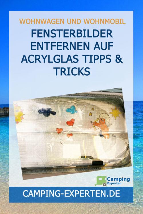 Fensterbilder entfernen auf Acrylglas Tipps & Tricks