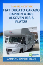 Fiat Ducato Carado Capron A 461 Alkoven bis 6 Plätze