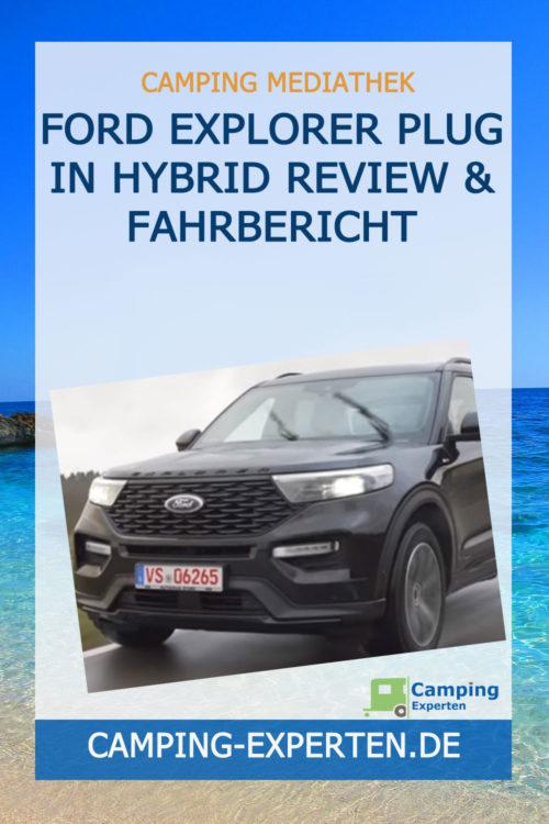 Ford Explorer Plug in Hybrid Review & Fahrbericht