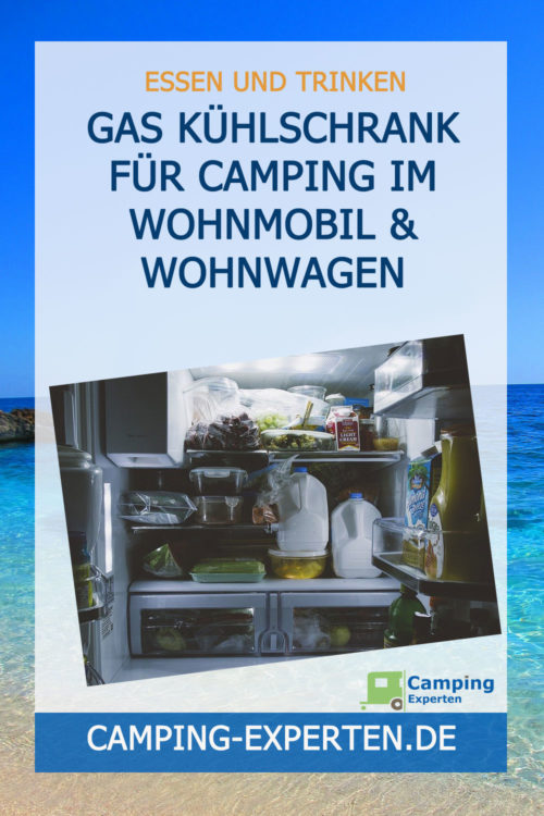 Gas Kühlschrank für Camping im Wohnmobil & Wohnwagen