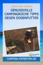 Genussvolle Campingküche Tipps gegen Dosenfutter