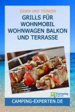 Grills für Wohnmobil Wohnwagen Balkon und Terrasse