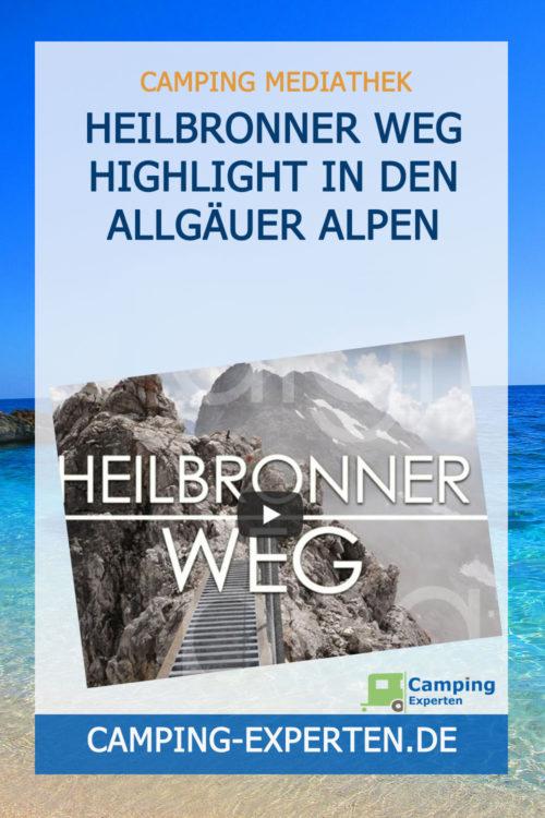 Heilbronner Weg Highlight in den Allgäuer Alpen