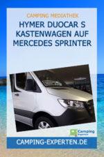Hymer DuoCar S Kastenwagen auf Mercedes Sprinter