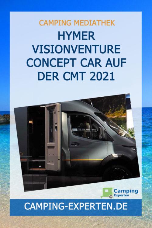Hymer VisionVenture Concept Car auf der CMT 2021