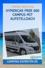 Hymercar Free 600 Campus mit Aufstelldach